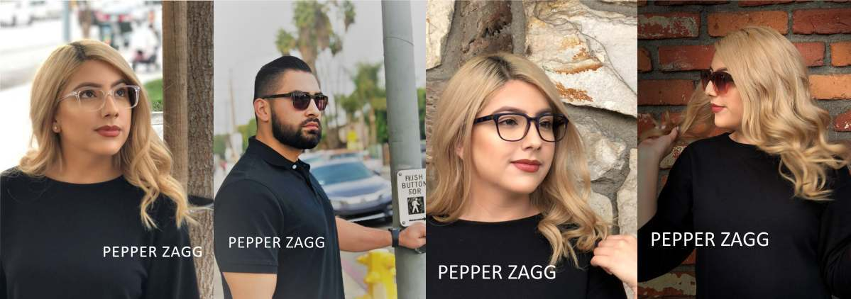 Pepper Zagg eyewear people