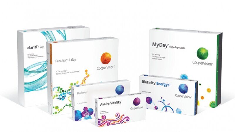 order CooperVision contact lenses