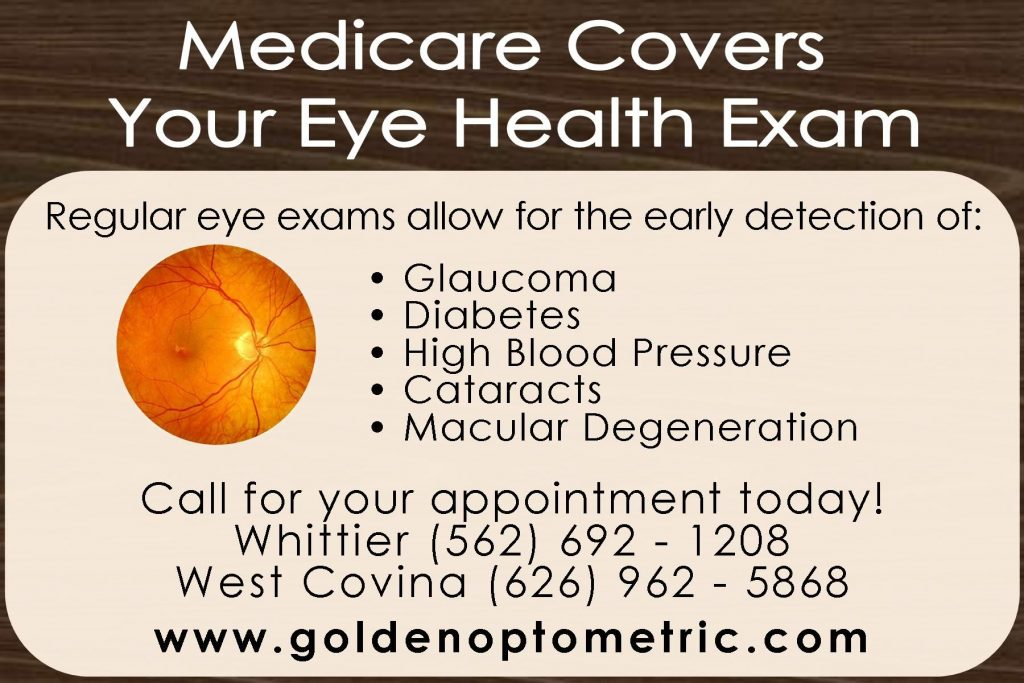 Medicare covers your eye health examination