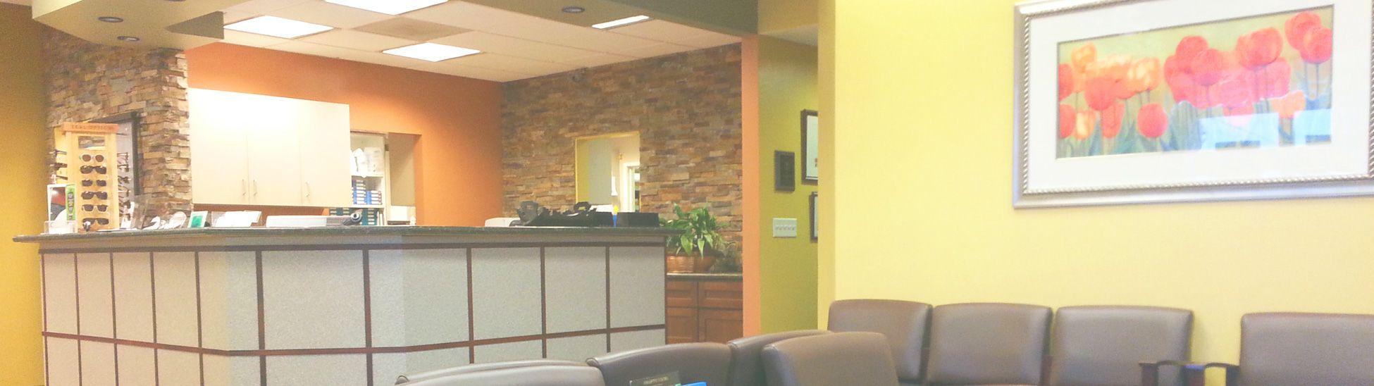 Whittier optometry office panorama